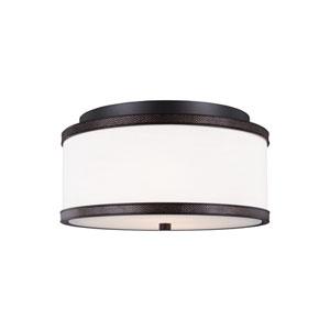 Marteau Oil Rubbed Bronze Two-Light Ceiling Fixture