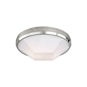 Gillis Chrome Two-Light Flush Mount