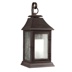 Shepherd Heritage Copper One-Light 11-Inch Wide Outdoor Wall Sconce