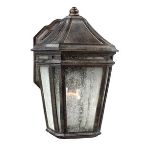 Londontowne Weathered Chestnut One-Light 11-Inch Integrated LED Outdoor Wall Sconce