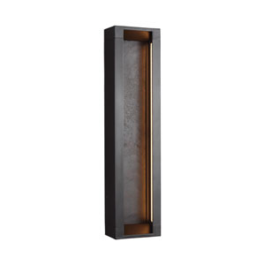 Mattix Oil Rubbed Bronze LED Line Voltage Outdoor Sconce