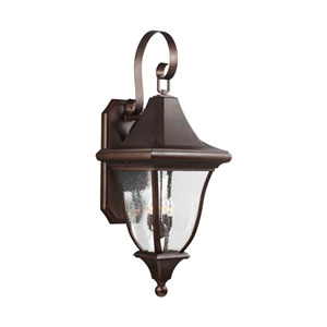 Oakmont Patina Bronze Four-Light Outdoor Wall Lantern