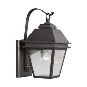 Herald Antique Bronze One-Light Outdoor Wall Lantern