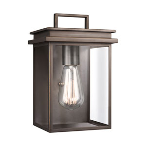 Glenview Antique Bronze 7-Inch One-Light Outdoor Wall Lantern