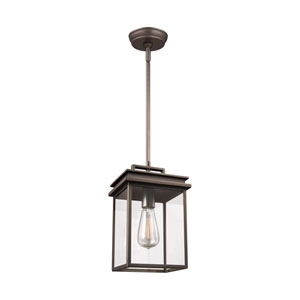 Glenview Antique Bronze One-Light Outdoor Pendant Lantern