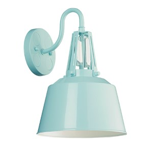 Freemont Hi Gloss Blue One-Light Outdoor Lantern