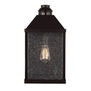 Lumiere Oil Rubbed Bronze One-Light 18.5-Inch High Outdoor Wall Sconce