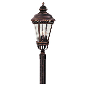 Castle Large Bronze Outdoor Post/Pier Mount