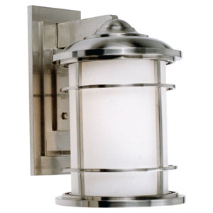 Lighthouse Wall Mount Light in Brushed Steel
