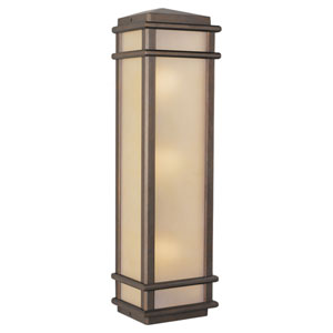 Mission Lodge Outdoor Flush Wall Fixture