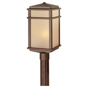 Mission Lodge Large Bronze Outdoor Post/Pier Mount