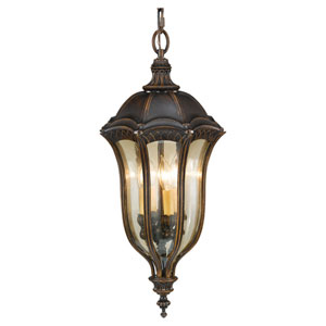 Baton Rouge Walnut Four-Light Outdoor Pendant
