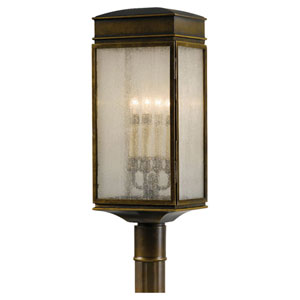 Whitaker Astral Bronze Outdoor Post Light