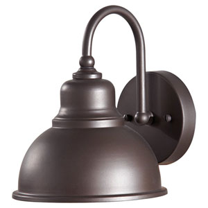 Darby Oil Rubbed Bronze One Light Outdoor Metal Wall Bracket