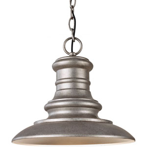 Redding Station Tarnished One-Light Integrated LED Outdoor Pendant