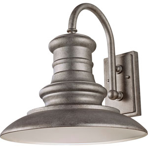 Redding Station Tarnished 15.62-Inch One Light Outdoor Wall Sconce