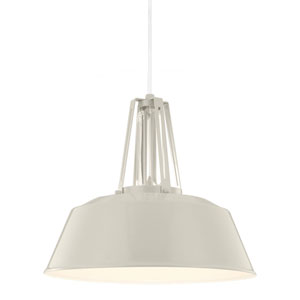 Freemont Hi Gloss Grey One-Light Pendant