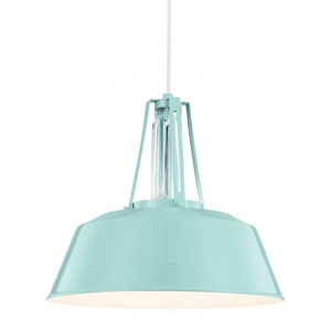 Freemont Hi Gloss Blue One-Light Pendant