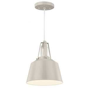Freemont Hi Gloss Grey One-Light Mini Pendant