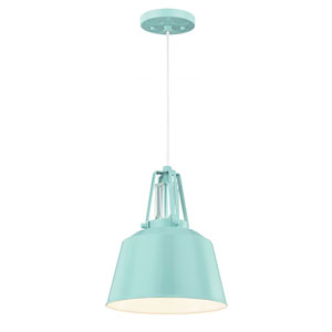 Freemont Hi Gloss Blue One-Light Mini Pendant