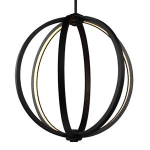 Khloe Oil Rubbed Bronze Three-Light 20-Inch Wide LED Pendant