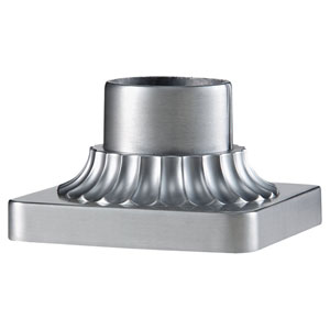 Brushed Aluminum Pier Mount Bracket