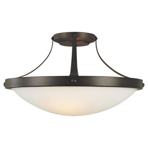 Boulevard Semi-Flush Ceiling Light