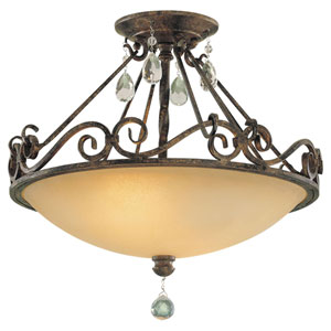 Chateau Semi-Flush Ceiling Light