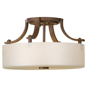Sunset Drive Corinthian Bronze Semi-Flush