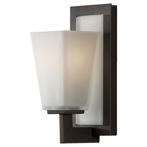 Clayton Oil Rubbed Bronze One-Light Bath Light Strip