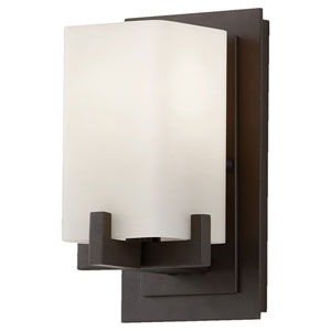 Riva Oil Rubbed Bronze One-Light Bath Fixture