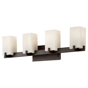 Riva Oil Rubbed Bronze Four-Light Bath Fixture