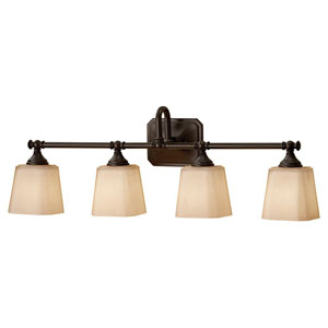 Concord Oil Rubbed Bronze Four-Light Vanity Light