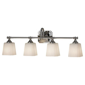 Concord Polished Nickel Four-Light Vanity Light