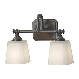 Concord Oil Rubbed Bronze Two-Light Vanity