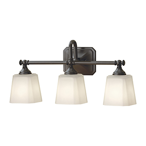 Concord Oil Rubbed Bronze Three-Light Vanity