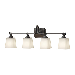 Concord Oil Rubbed Bronze Four-Light Vanity