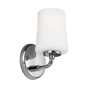 Jennie Chrome One-Light Wall Bath Fixture