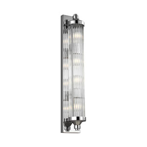 Paulson Chrome Four-Light Wall Bath Fixture