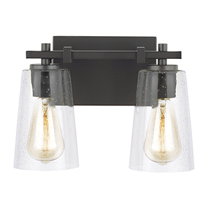Mercer Oil Rubbed Bronze Two-Light Vanity