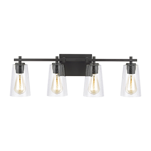 Mercer Oil Rubbed Bronze Four-Light Vanity