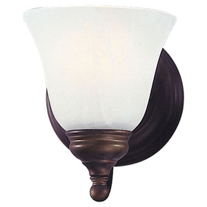 Bristol Bronze One-Light Bath Fixture