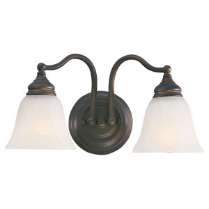 Bristol Two-Light Bath Fixture