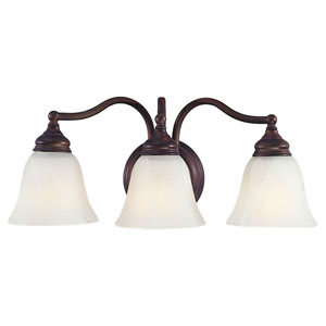Bristol Three-Light Bath Fixture