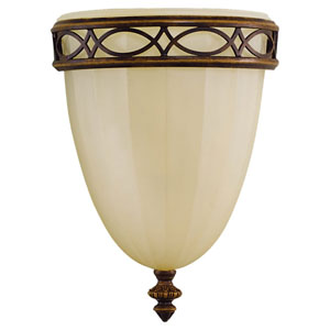Edwardian Detailed Flush Sconce