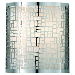Joplin Chrome One-Light Sconce