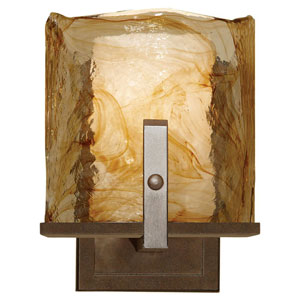 Aris Roman Bronze One-Light Wall Sconce