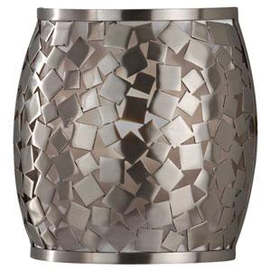 Zara Brushed Steel  Wall Sconce