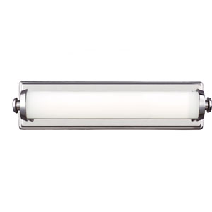Edgebrook Polished Nickel One-Light 18-Inch Wide LED Bath Fixture