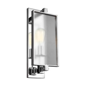 Dailey Chrome One-Light Wall Bath Fixture